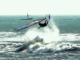 Windsurf en El Faro