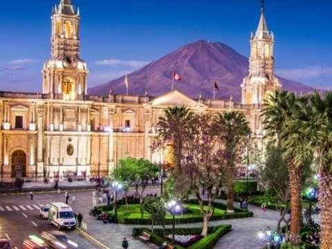 Arequipa y Cañon del Colca