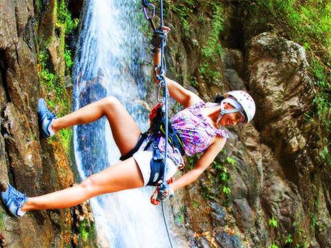 Desciende por Rapel la Cascada Huanano