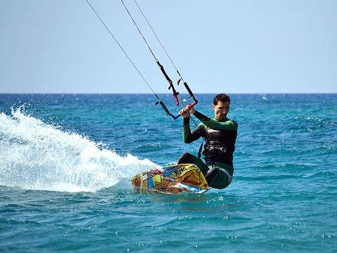 Kitesurf en el Mar de Paracas