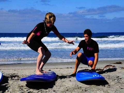 Aprende a Correr Olas en la Costa Verde
