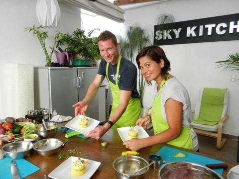 Clase de Cocina Con Chef Profesional